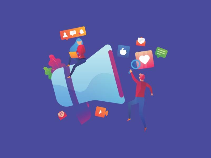 Gestão de conteúdo para redes sociais e mídia digital
